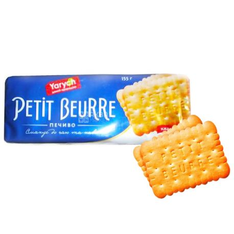 Yarych, 155 g, cookies, Petit Beurre, classic