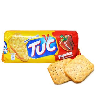 TUC, 100 g, cracker, paprika