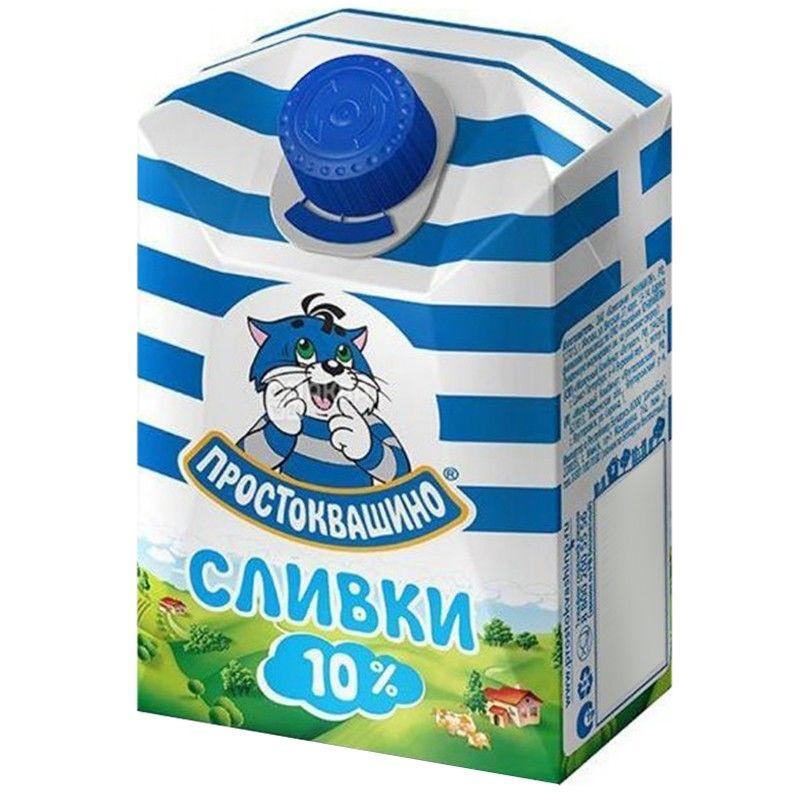 Prostokvashino, 0,2 l, cream, 10%