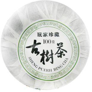 Османтус, Bing cha Shen, Puerch, 100 г, Чай Бін ча Шен, Пуер