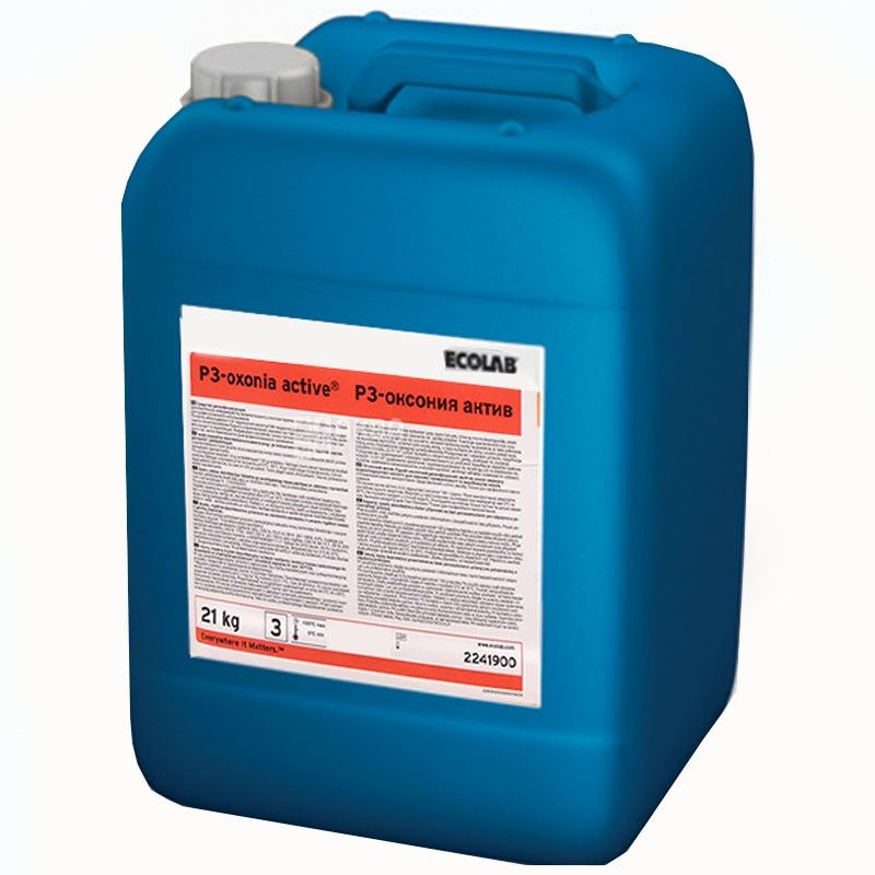 Ecolab Oxsonia active P3, 21 kg, concentrated disinfectant for bottles