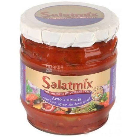 Salatmix, 380 г, лечо, из томатов со сладким и острым перцем