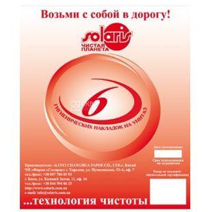 Solaris, 6 pcs., Overlays for toilet, Hygienic, m / s