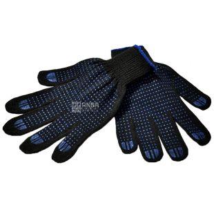 Промтус, розмір М, рукавички в'язані, З ПВХ покриттям, м/у