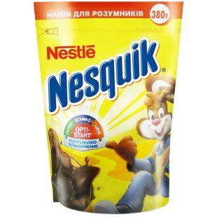 Nesquik, Opti-Start, 380 г, Несквік, Опті-Старт, какао-напій, швидкорозчинний