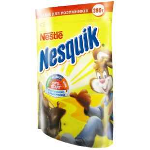 Nesquik, Opti-Start, 380 г, Несквик, Опти-Старт, какао-напиток, быстрорастворимый