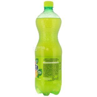 Fanta, Лимон, 1 л, Фанта, Вода солодка, з натуральним соком, ПЕТ