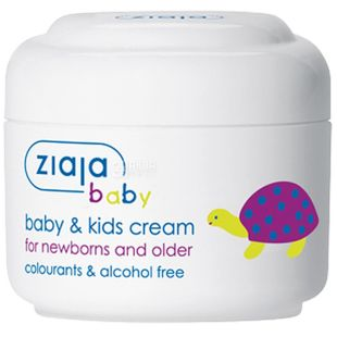 Ziaja, 50 мл, дитячий крем, Baby