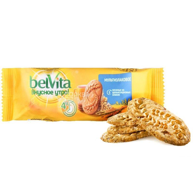 Belvita, 50 г, печиво, Мультизлакове, м/у
