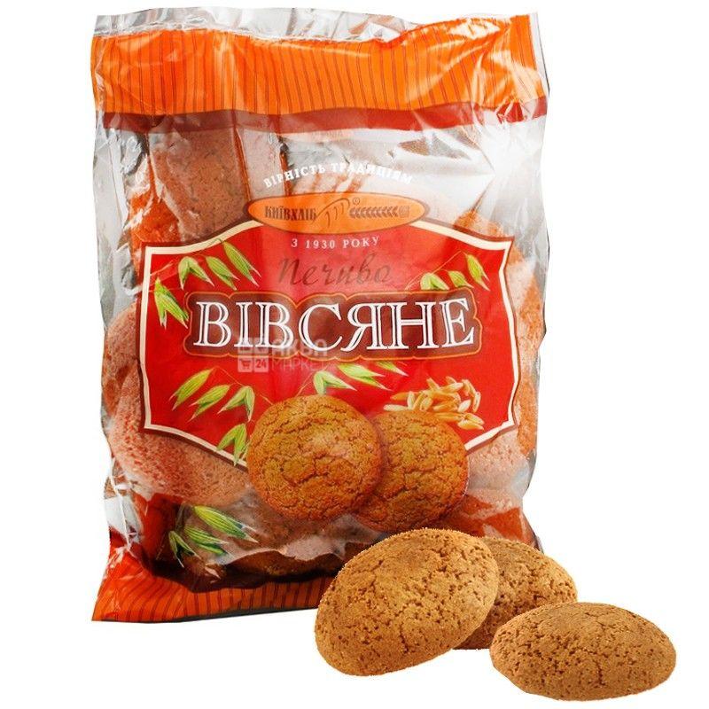 Київхліб, 400 г, печиво, Вівсяне