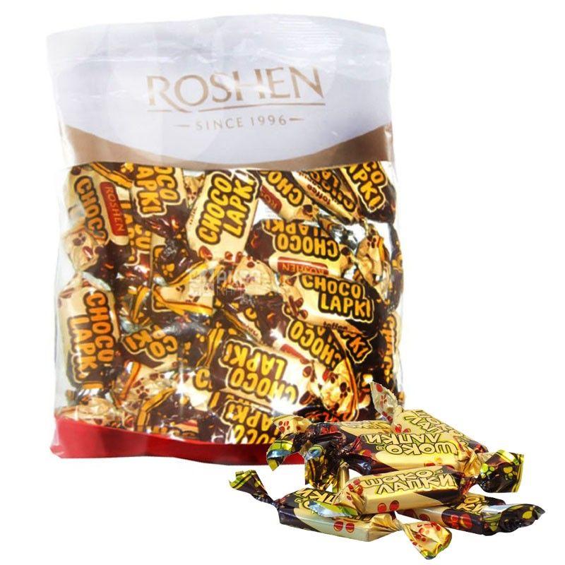 Roshen, 155 г, цукерки, Шоколапки