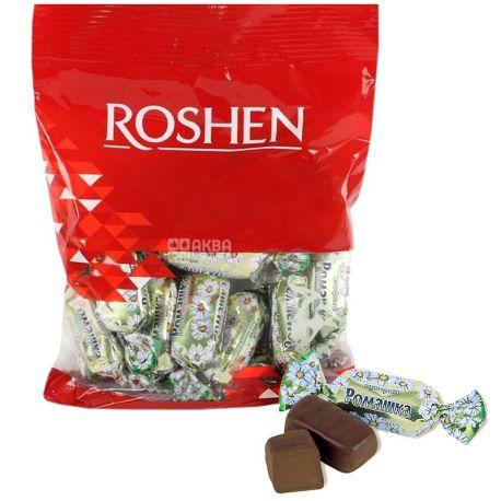Roshen, 203 г, цукерки шоколадні, Ромашка