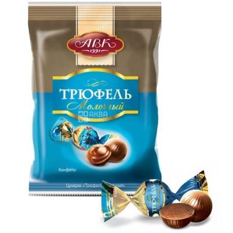 АВК, 200 г, конфеты шоколадные, Трюфель молочный