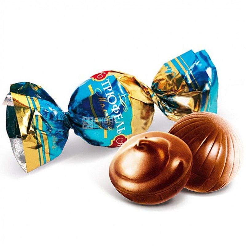AVK, 200 g, chocolates, Milk truffle