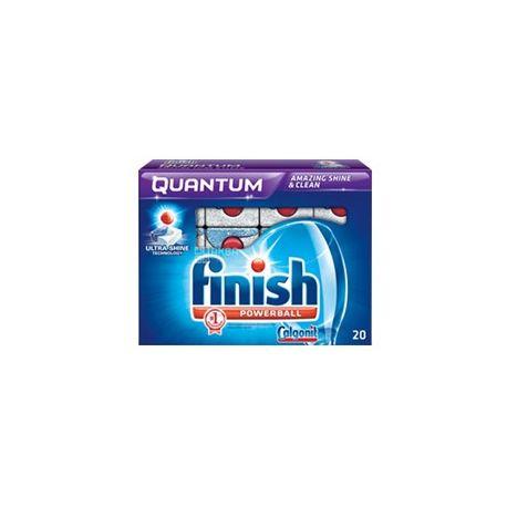 Finish Quantum tablets 20 pcs for dishwashers