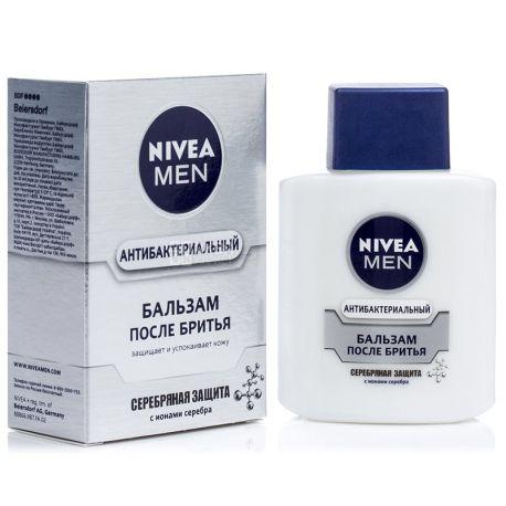 Nivea, 100мл, Бальзам після гоління, Срібний захист