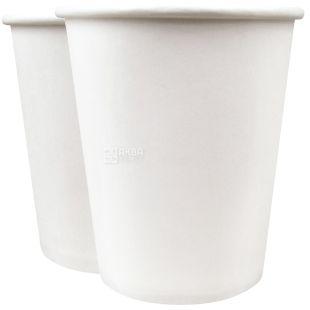 Промтус Стакан бумажный белый 180 мл, 50 шт, D69