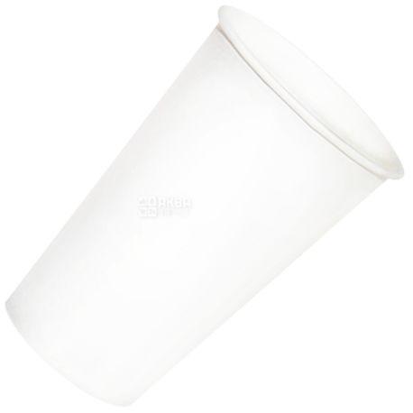 Промтус Стакан бумажный белый 500 мл, 50 шт, D92
