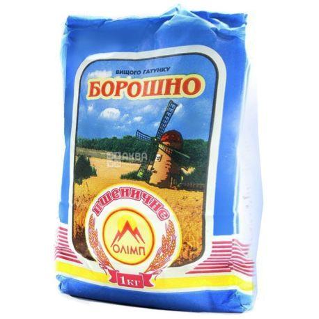 Олімп, Борошно пшеничне, вищий сорт, 1 кг