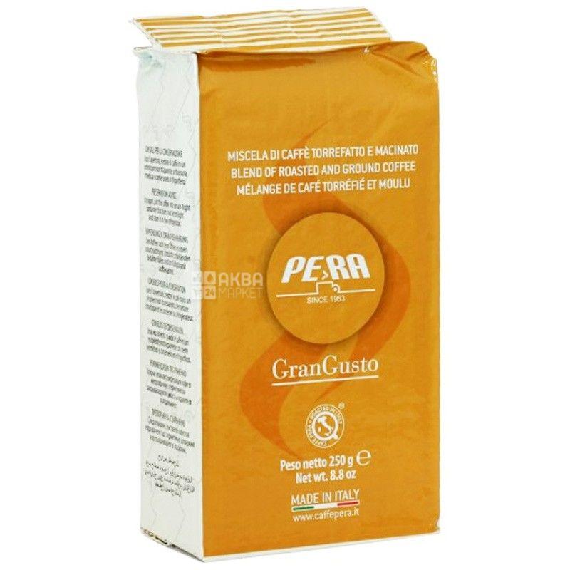 Pera Gran Gusto, 250 г, Кава Пера Гран Густо, середнього обсмаження, мелена