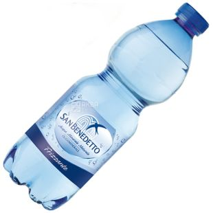 San Benedetto, 0.5 l, Sparkling water, PET, PAT