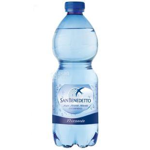 San Benedetto, 0,5 л, Газированная вода, ПЭТ