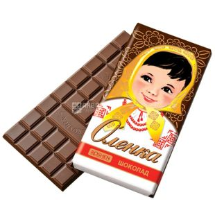 Roshen, 90 г, молочний шоколад, Аленка