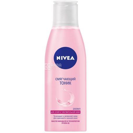 Nivea, 200 мл, Тоник смягчающий, Для сухой и чувствительной кожи