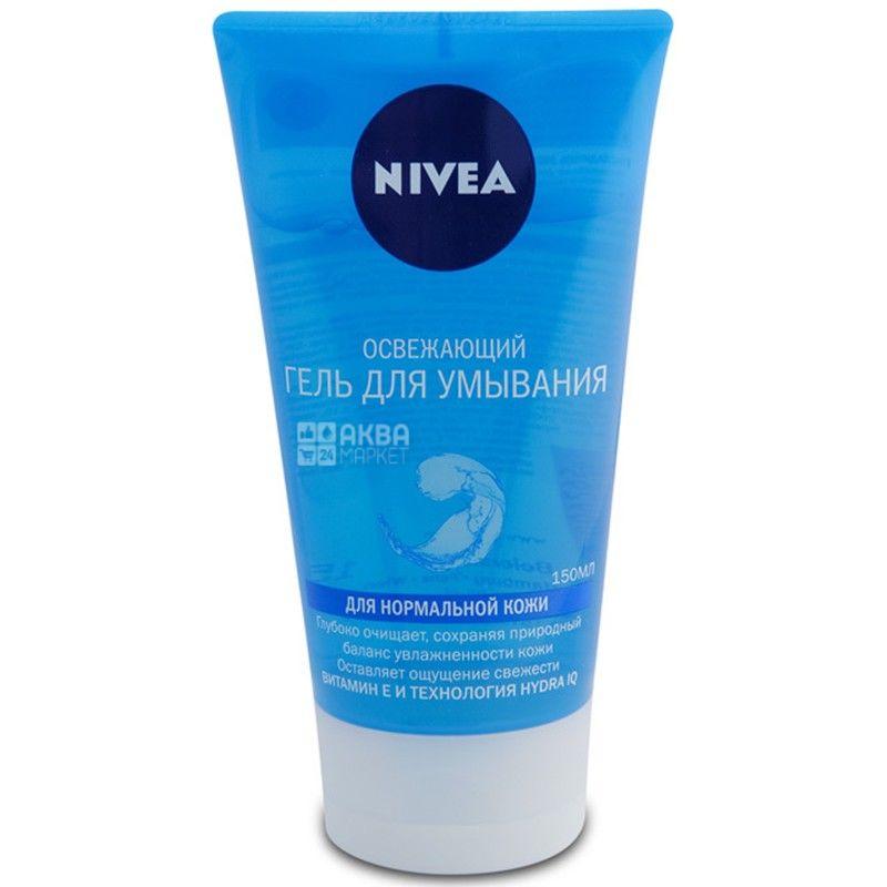 Nivea, 150 мл, гель для вмивання для нормальної шкіри, освіжаючий