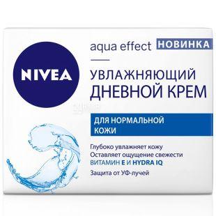 Nivea, 50 ml, moisturizing day cream, For normal skin
