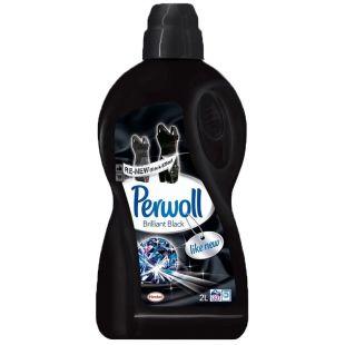 Perwoll, 2 л, гель для прання темної білизни, Brilliant Black