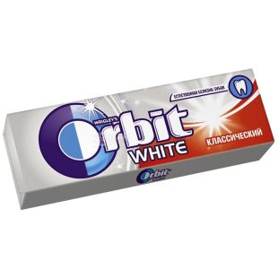 Orbit, 14 г, жевательная резинка, White Classic
