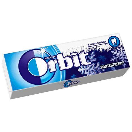 Orbit, 14 г, жувальна гумка, Wіnterfresh