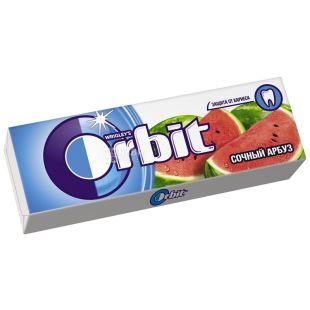 Orbit, 14 г, жевательная резинка, Сочный арбуз