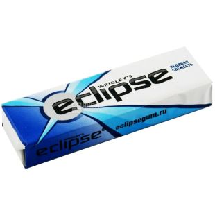 Eclipse, 14 г, жувальна гумка, Льодяна свіжість