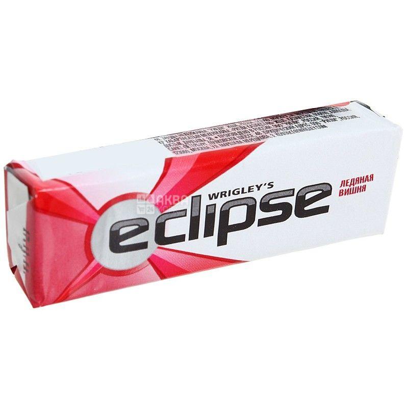 Eclipse, 14 г, жевательная резинка, Ледяная вишня, м/у