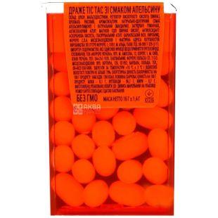 Tic Tac, 16 г, жувальне драже, Orange