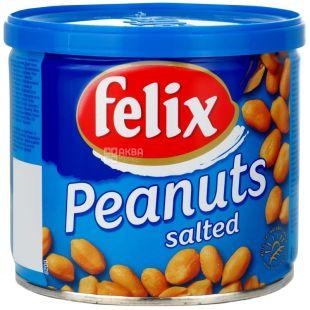 Felix, 140 г, арахис жареный, Cоленый