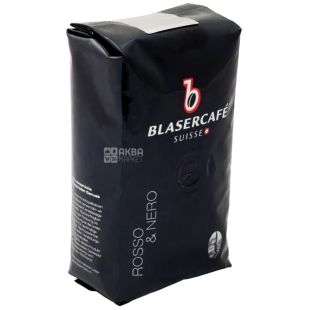 BlaserCafe, Rosso Nero, 250 г, Кава Блазер, Россо Неро, темного обсмаження, в зернах