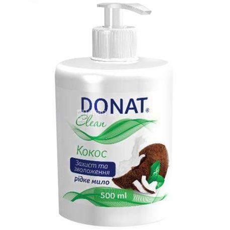 Donat, 500 мл, мыло для рук, упаковка по 6 шт., Кокос