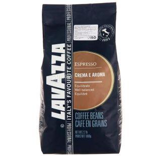 Lavazza, 1 кг, зернова кава, Crema e Aroma Espresso, м/у