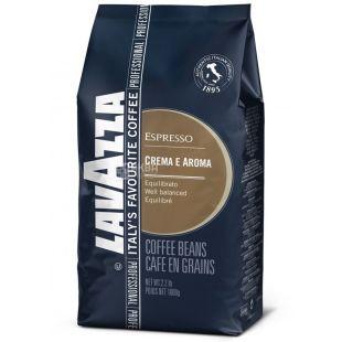 Lavazza Crema e Aroma Espresso, Кофе зерновой, 1 кг