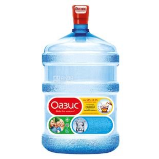 Вода 18,9 л, Оазис