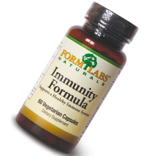 Form Labs Naturals, 60 капс., витаминно-минеральный комплекс, Immunity Formula, ПЭТ