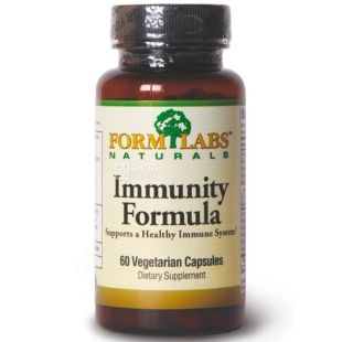 Form Labs Naturals, 60 капс., вітамінно-мінеральний комплекс, Immunity Formula, ПЕТ