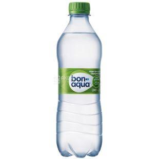 BonAqua, 0,5 л, вода слабогазированная, ПЭТ