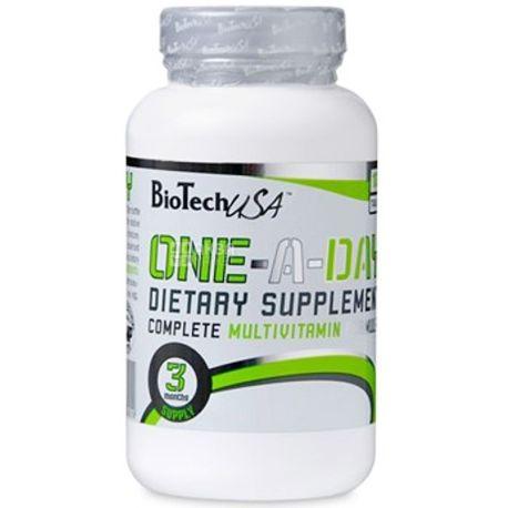 BioTech, 100 таб., вітамінно-мінеральний комплекс, One-A-Day, ПЕТ