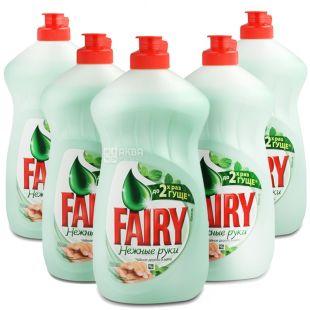 Fairy, 0,5 л, засіб для миття посуду, Чайне дерево, упаковка 21 шт.