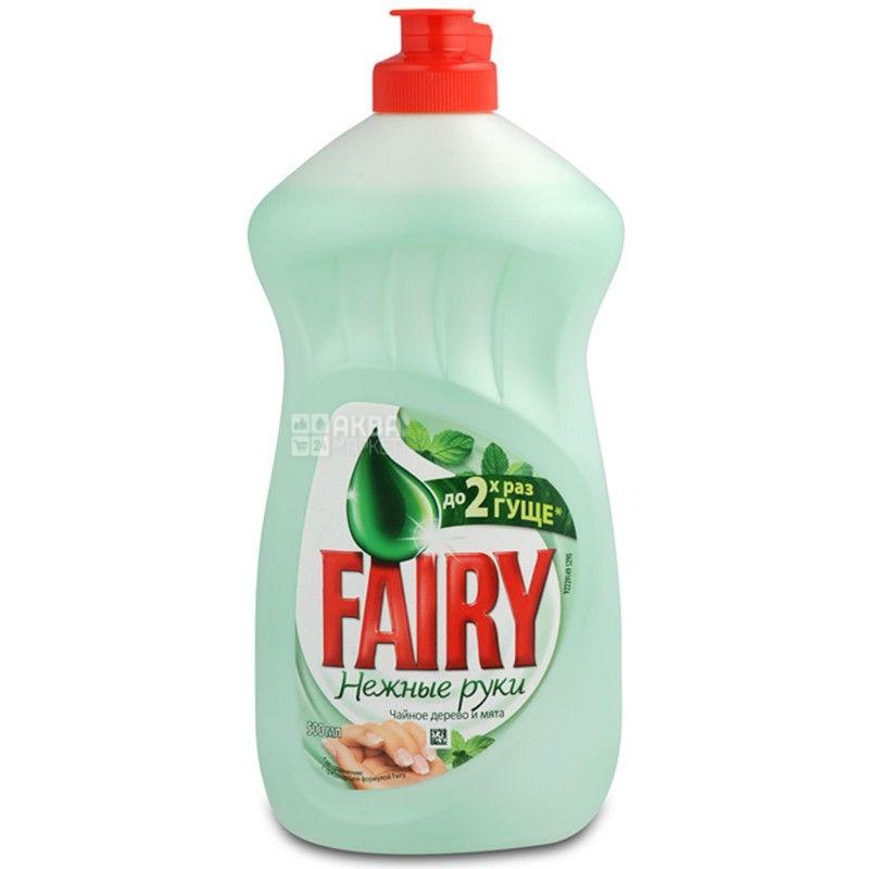 Fairy, Чайное дерево, 500 мл, Упаковка 21 шт., Жидкое средство для мытья посуды