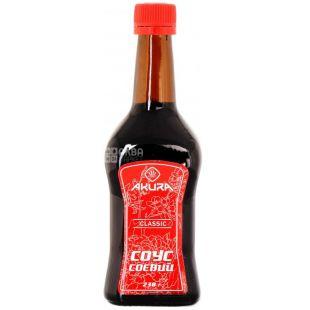 Akura, 200 ml, soy sauce, Classic, glass